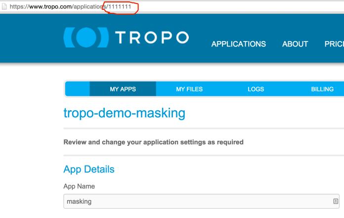 tropo_app_id
